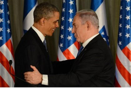 Netanyahu embraces Obama