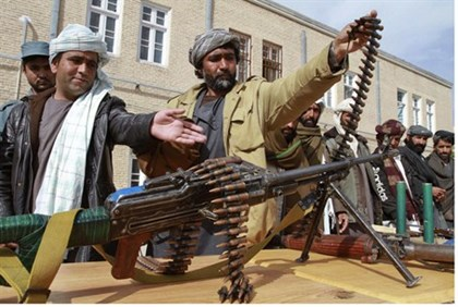 Pakistani Taliban terrorists (file)