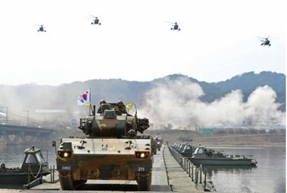 South Korean anti-aircraft armoured vehicles