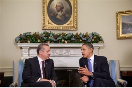 Turkey's PM Erdogan, US Pres. Obama