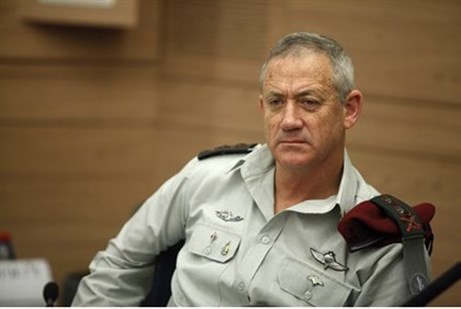 IDF Chief of Staff Benny Gantz
