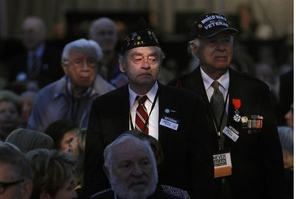 U.S. WWII veterans and liberators