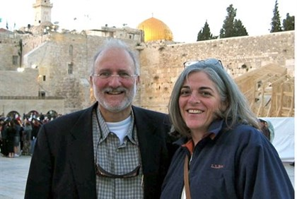 U.S. aid contractor Alan Gross and his wife Judy