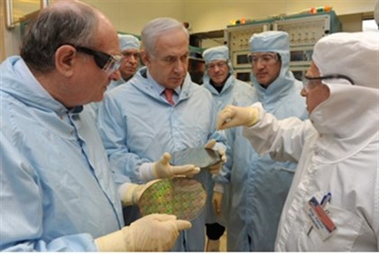 Prime Minister in TEchnion lab