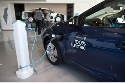 headquarters of electric car venture Better Place in Tel Aviv