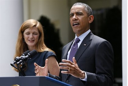 President Obama announces nomination of Samantha Power