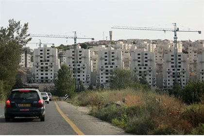 Beit Shemesh building site