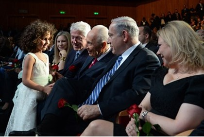 Shimon Peres birthday celebration