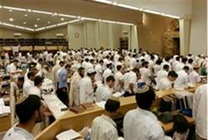 Prayers at Mishkan Ehud