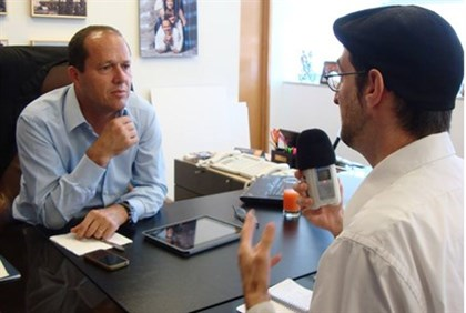 Ben Bresky interviews Mayor Nir Barkat