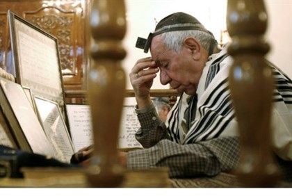 Iranian Jew praying