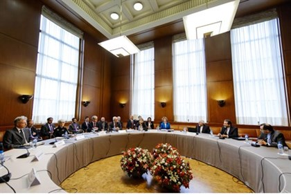 Previous round of talks in Geneva
