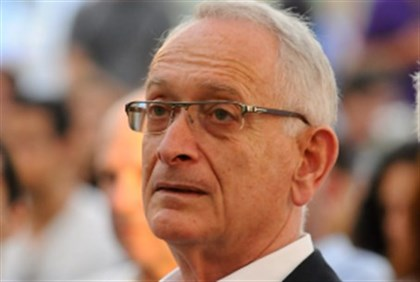 Haaretz publisher Amos Shocken
