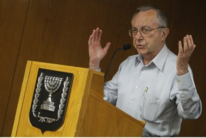 Moshe Arens, addressing Knesset in 2012