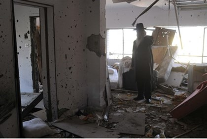 Mumbai Chabad house, after 2008 attack (file)