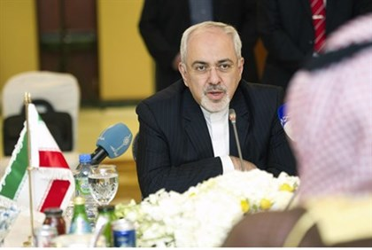Iran's Foreign Minister Mohammad Javad Zarif