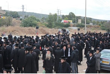 Protest outside Kele Shesh
