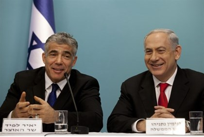 Lapid and Netanyahu