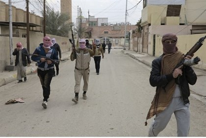 Al Qaeda fighters take over the twn of Ramadi, Iraq (Dec. 30th 2013)