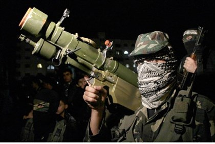 Hamas terrorist in Gaza City