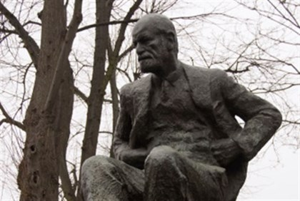 Statue of Sigmund Freud in London