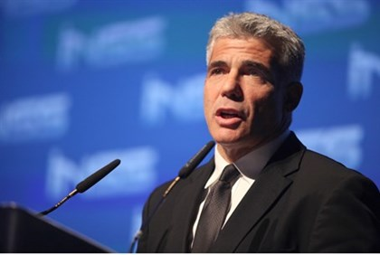 Finance Minister Yair Lapid at INSS conference