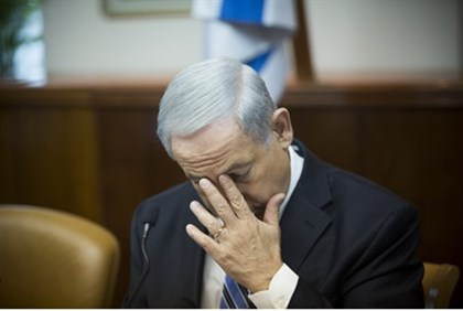 Exasperated: Prime Minister Netanyahu (illustrative)