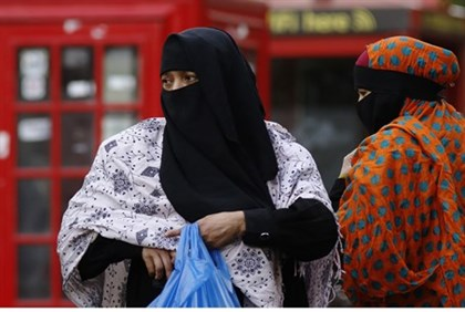 Muslim women in London (illustrative)