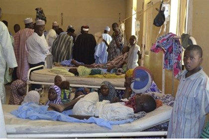 Victims of Islamists in Nigeria.