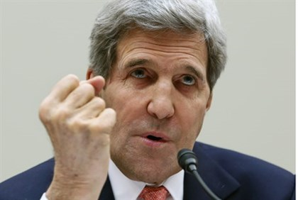 Kerry testifies before the House Foreign Affairs Committee