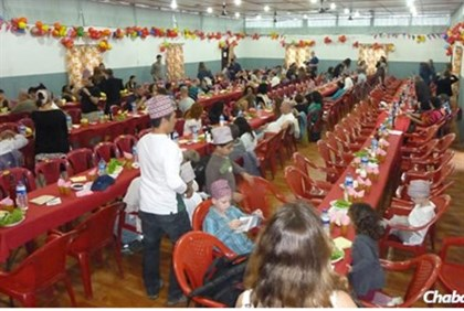 Chabad seder in Nepal