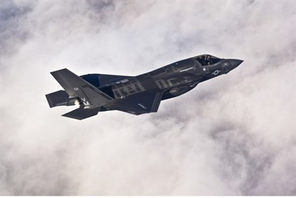 artin F-35B Lightning II joint strike fighter.