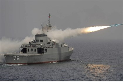 Iranian destroyer fired 'Nasr' cruise missile