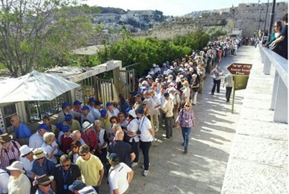 The long and winding road to the Temple Mount