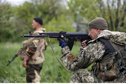 Pro-Russian rebels in eastern Ukraine
