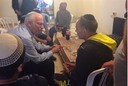 Minister Ariel visits Dadon family