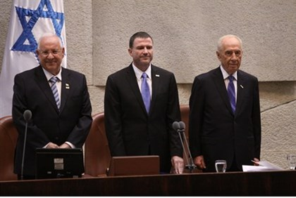 (L to R) Rivlin, Edelstein, and Peres at the