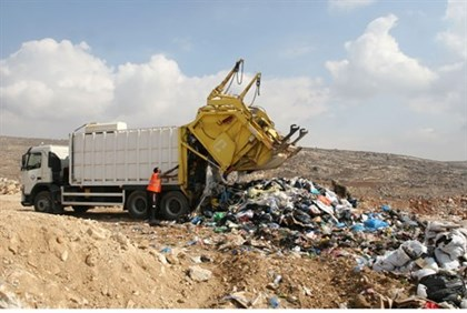 Piles of garbage in Judea and Samari now a thing of the past