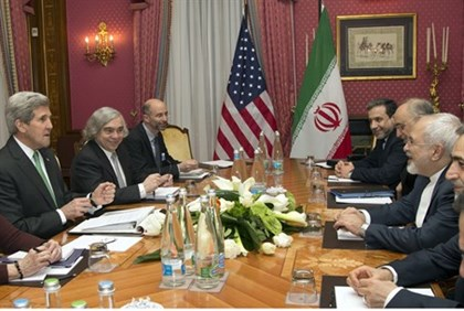 US negotiating team meets with Iranian counterparts for nuclear talks