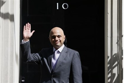 UK Business Secretary Sajid Javid