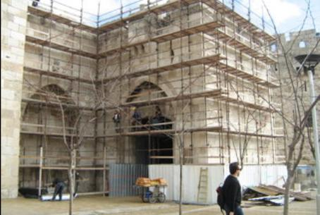 Jaffa Gate refurbishment