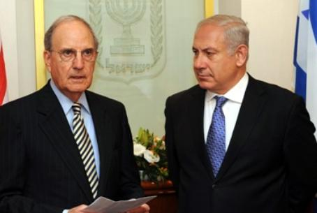 Mitchell with PM Netanyahu
