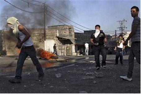 Riot in Shuafat, Jerusalem