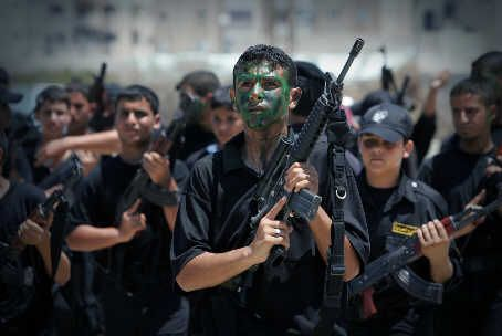 Hamas armed forces in Gaza