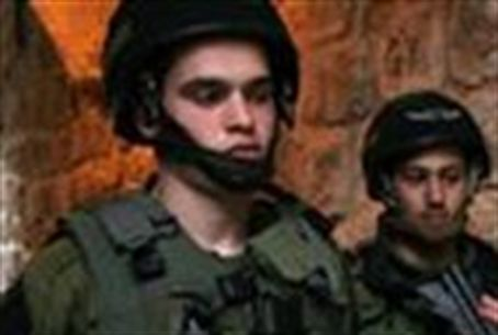 Soldiers in Hevron