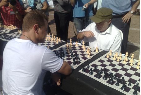 Sharansky VS. Chess Champ