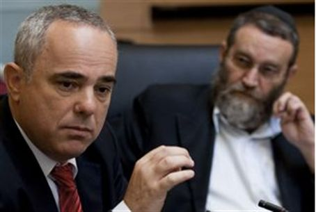 Fin. Min. Steinitz (left) and MK Gafni