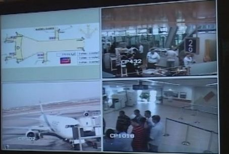 Ben Gurion Int'l Airport security cams