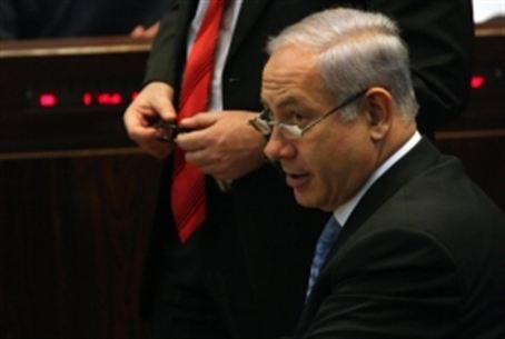 Netanyahu at budget debate, 29.12.10