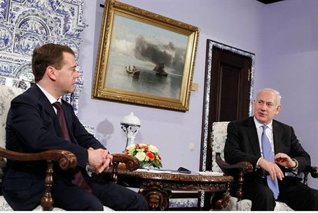 Medvedev and Netanyahu, 24.3.11
